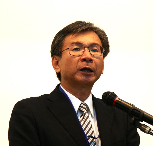 日本中医学会設立準備委員会委員長の酒谷薫先生