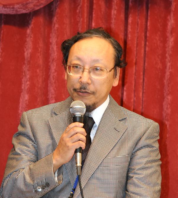 学会会長に選出された平馬直樹先生